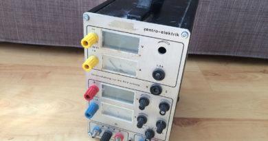 Zentro 7941 – Front bei Anlieferung