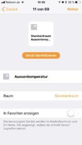 Homebridge - Setup der einzelnen Sensoren copy