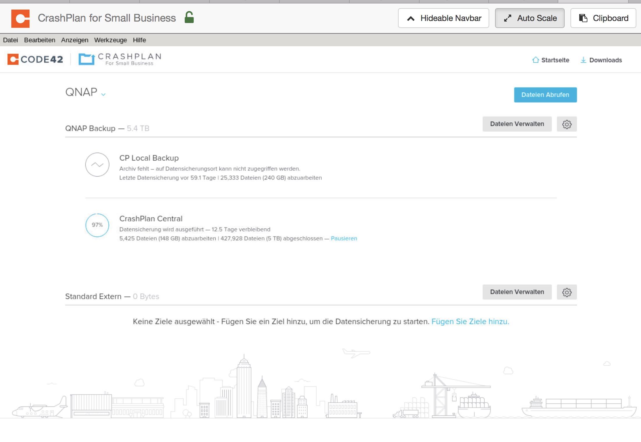 Anleitung: CrashPlan mit Docker auf QNAP NAS installieren - justIoT de