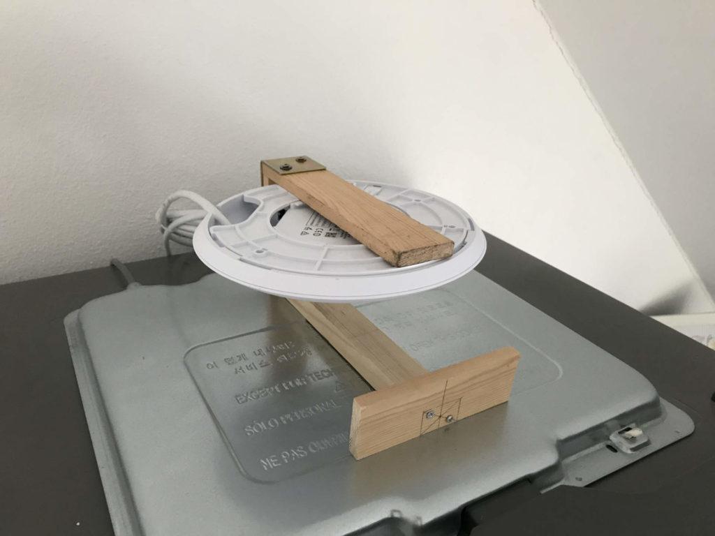 AP APC Pro DIY-Halterung - Im Betrieb