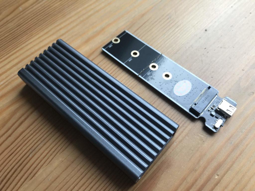 Externe SSD - Das RadiSonic Gehäuse